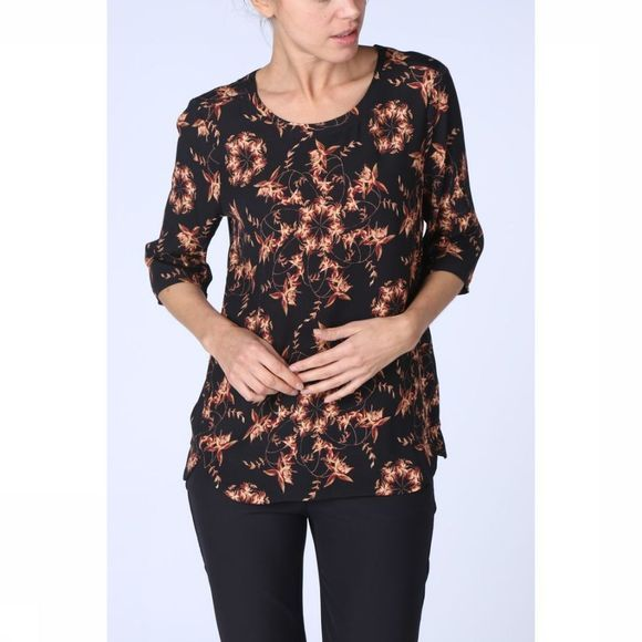 Blouse Woven Small Floral Print
