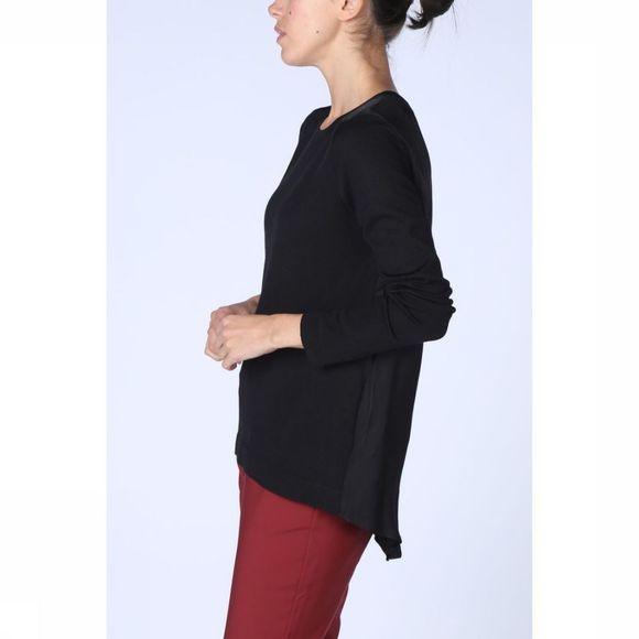 Trui Loose Fit W/ Woven Back