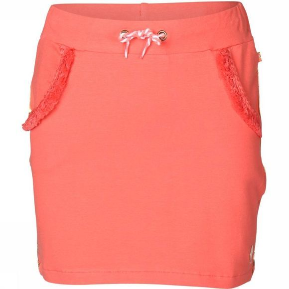 Jubel Skirt Uni La Isla red
