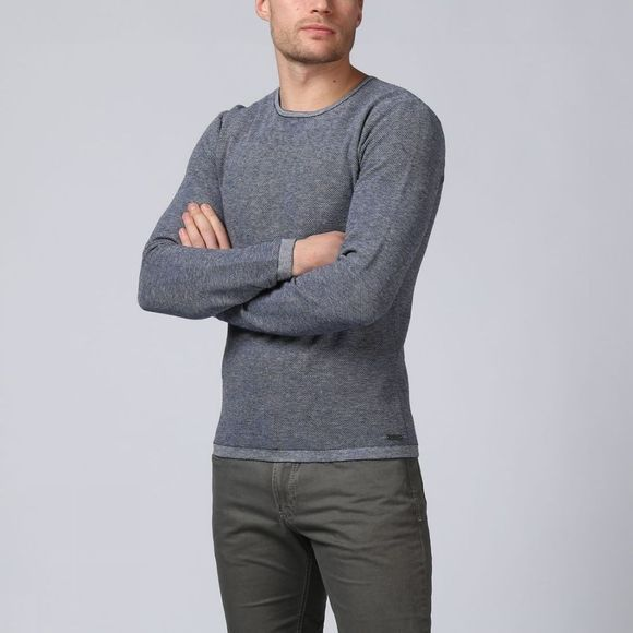 No Excess Pullover 85210119 mid blue