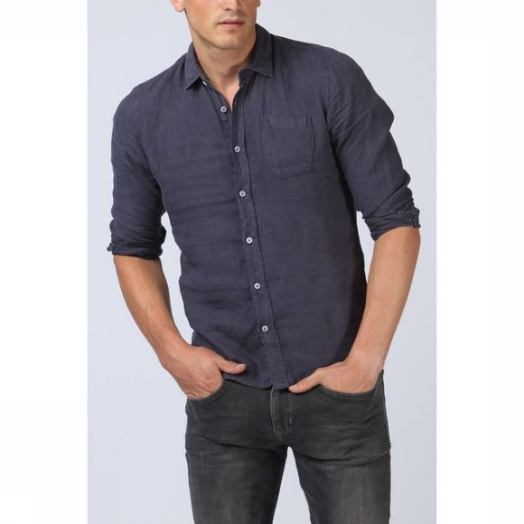 No Excess Shirt 85410215 mid blue