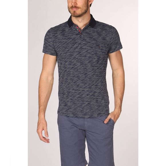 No Excess Polo 90-370208 Donkerblauw/Wit