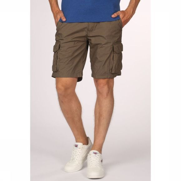 Dstrezzed Shorts 515176 dark khaki/Assortment Geometric