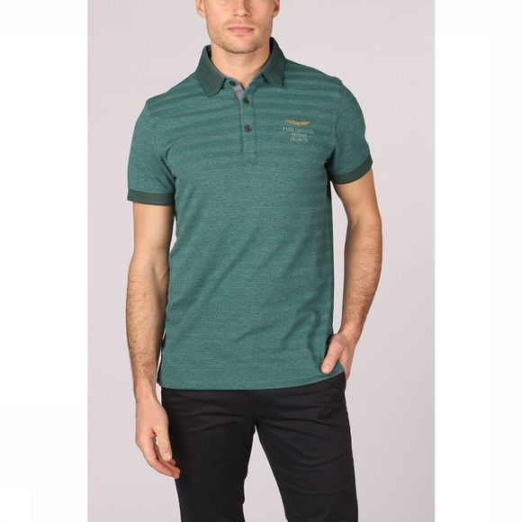 PME Legend Polo Ppss191856 Middengroen