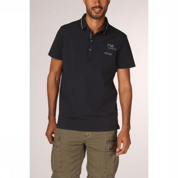 PME Legend Polo Ppss192863 dark blue