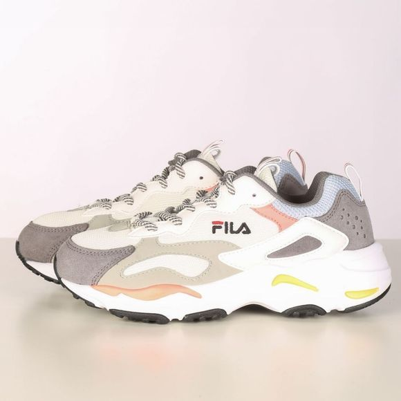 Fila Sneaker Ray Tracer Wmn Wit/Lichtblauw