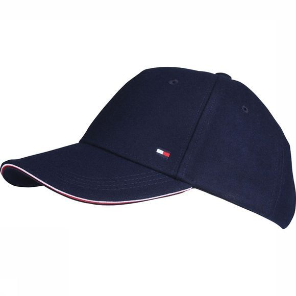 Tommy Hilfiger Pet Melton Corperate Cap Donkerblauw