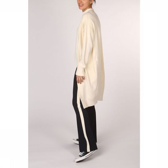 Yaya Cardigan Long Basic Ecru
