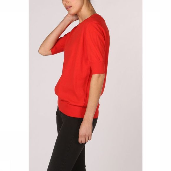 Yaya Trui With Shortsleeves Middenrood