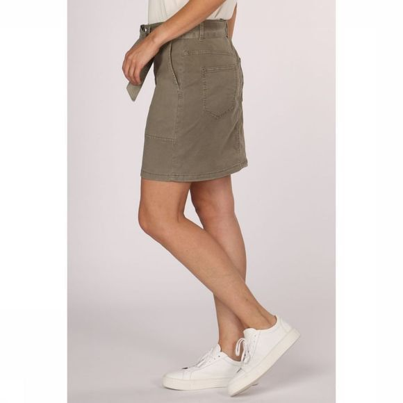 Yaya Rok Tencel With Worker Pockets Middenkaki
