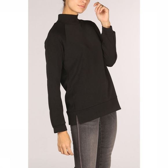 Yaya Trui W. Detailed Sleeves Zwart