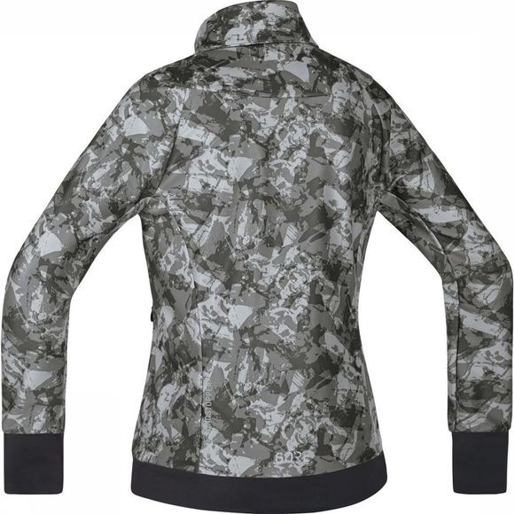 Gore Wear Windstopper C5 Women Trail Camo Donkergrijs/Assortiment Camouflage