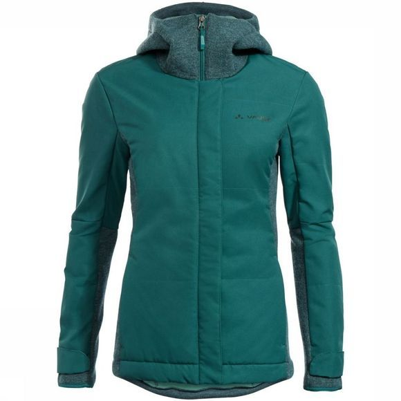 Vaude Softshell Cyclist Padded Groen/Donkergroen