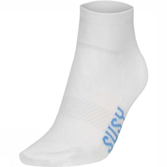Susy Cyclewear Sock Susy light blue/white