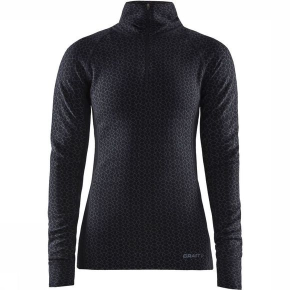 Craft Top Merino 240 Zip Noir