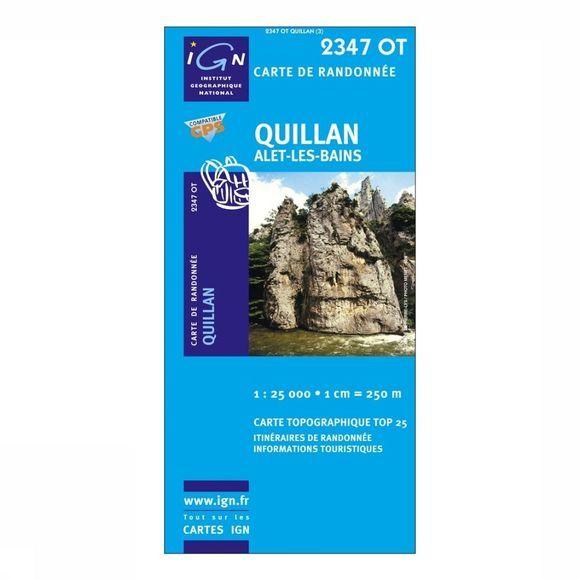 IGN Quillan Alet Les Bains