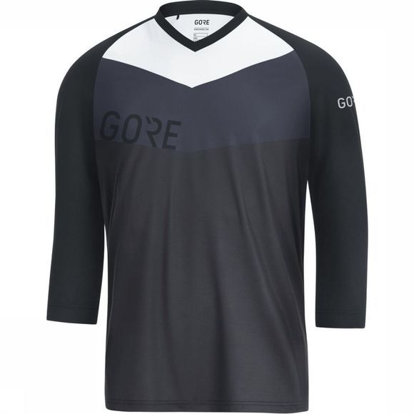 Gore Wear T-Shirt C5 All Mountain 3/4 Donkergrijs/Zwart