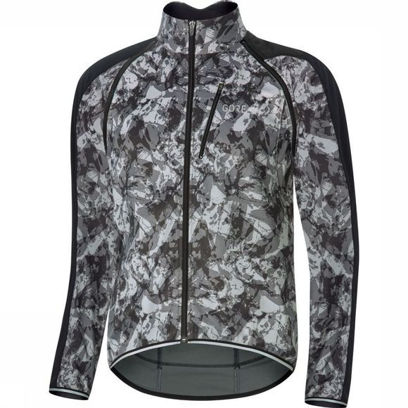 Gore Wear Windstopper C3 Phantom Zip-Off Camo dark grey/black