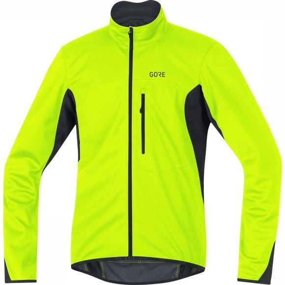 Gore Wear Softshell Gore Windstopper Thermo Middengeel/Zwart