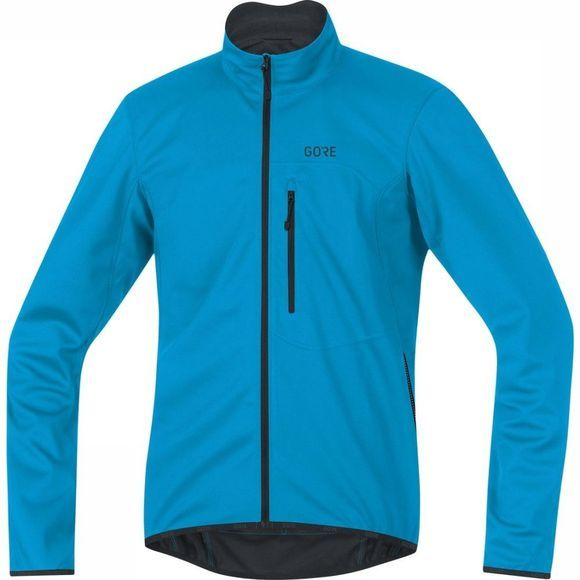 Gore Wear Softshell Gore Windstopper Thermo Marineblauw