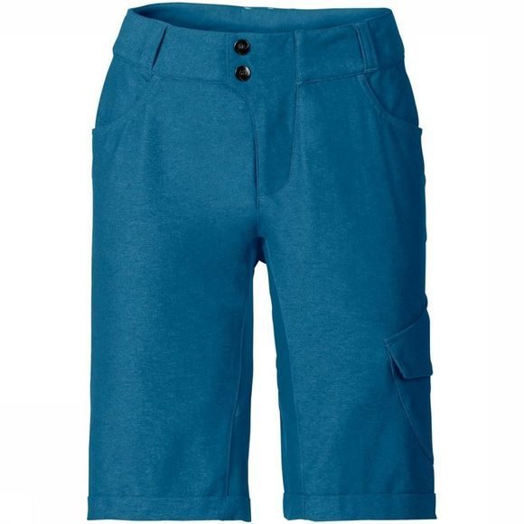 Vaude Broek Women'S Tremalzo Shorts Ii Middenblauw