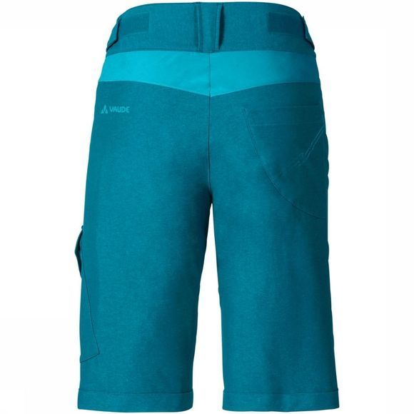 Vaude Pantalon  Women'S Tremalzo Shorts Ii Bleu Pétrole/Exceptions
