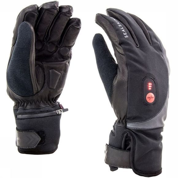 Sealskinz Handschoen Cold Weather Heated Cycle Zwart