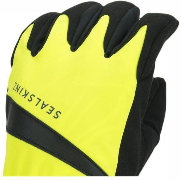 Sealskinz Gant All Weather Cycle Wp Noir/Jaune Moyen