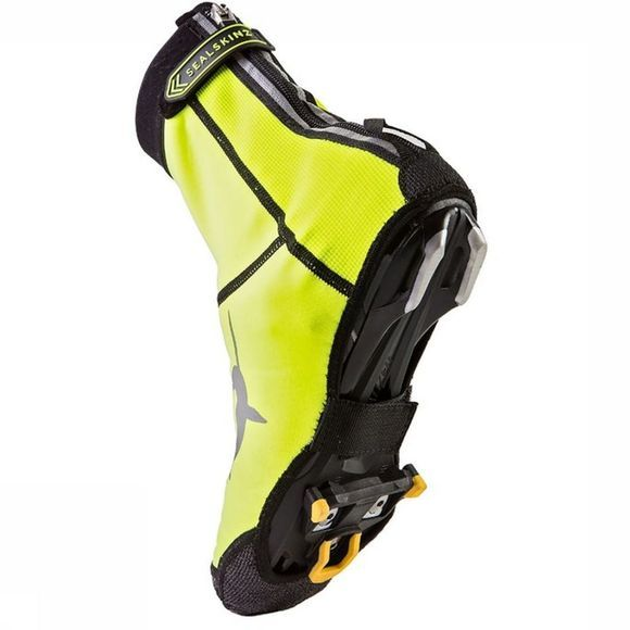 Sealskinz Overshoe Neoprene Open Sole mid yellow