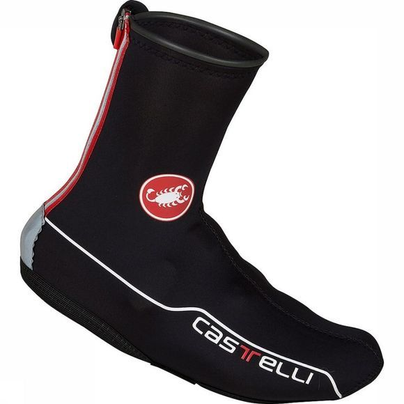 Castelli Couvre-Chaussure Diluvio 2 All-Road Noir