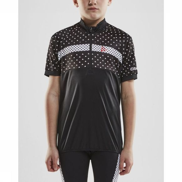 Craft T-Shirt Bike Jersey Noir/Blanc