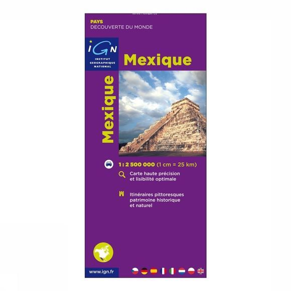 IGN Carte Mexique 2005