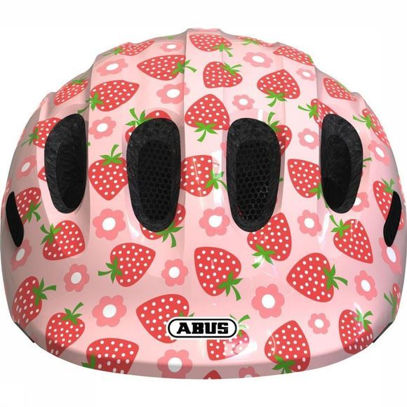 Abus Fietshelm Smiley 2.1 Middenroze/Middenrood