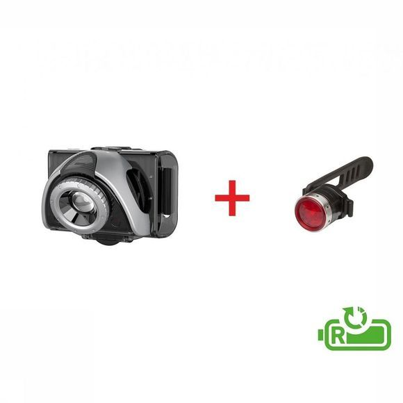 Ledlenser Bike Lighting B5R Front + B2R Rear black