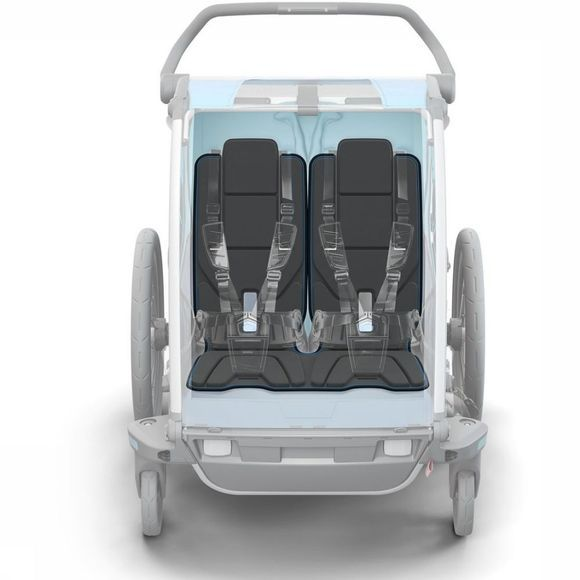 Thule Child Seat Chariot Padding 2 No colour / Transparent