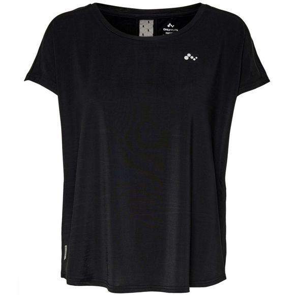 Only Play T-Shirt Capella Loose Training Ss Zwart