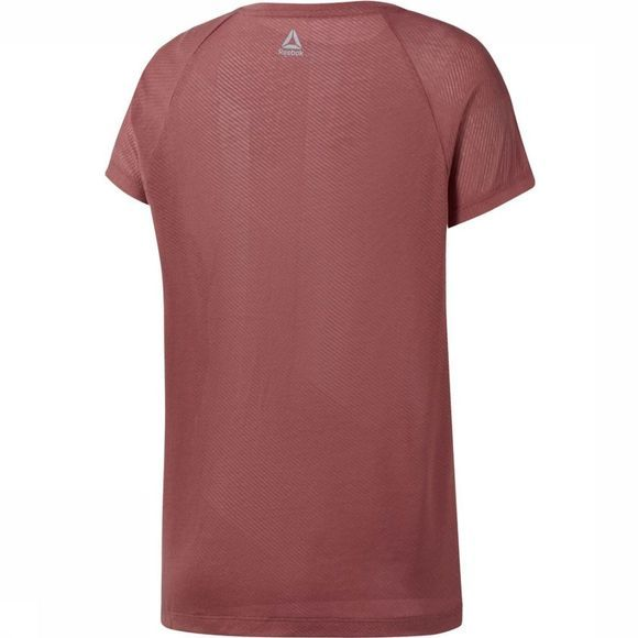 Reebok T-Shirt One Series Burnout Roest
