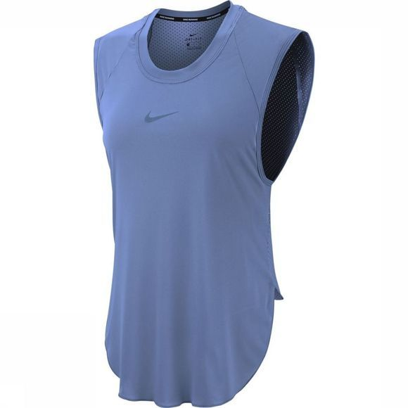 Nike Top City Sleek Cool Bleu