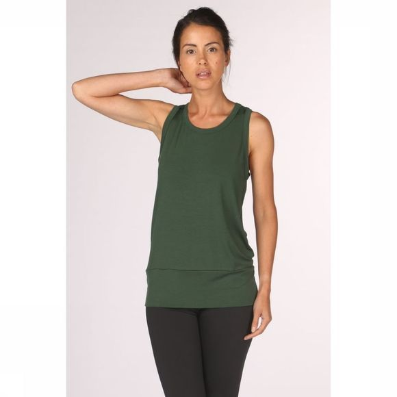 PlayPauze Top Freud Tencel Green Middengroen