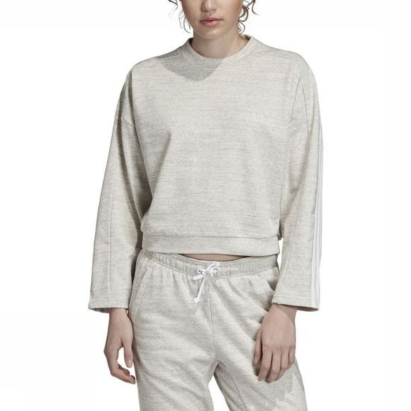 Adidas Pull Must Haves Mélange Gris Clair