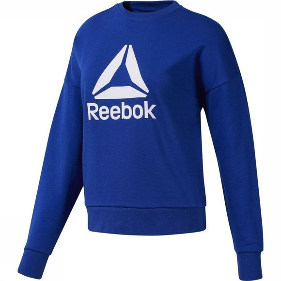 Reebok Trui Workout Ready Big Logo Indigoblauw