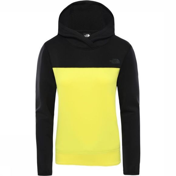 The North Face Trui Women'S Active Trail Spacer Pullover Zwart/Geel