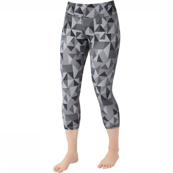 Mountain Equipment Legging Cala Crop Middengrijs/Lichtgrijs