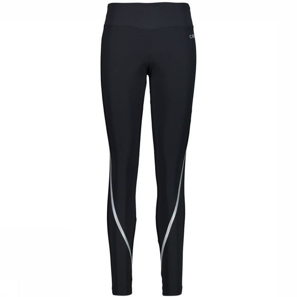 CMP Legging Wmn Long Zwart