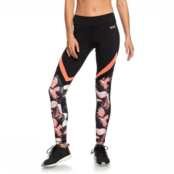 Roxy Collants De Sport Lead By The Slopes Noir/Assortiment