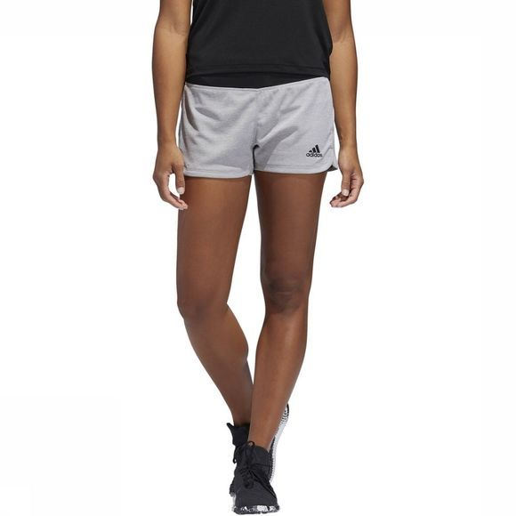 Adidas Short 2 In 1 Soft Touch Middengrijs