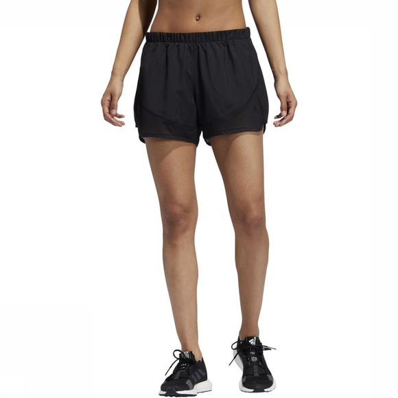 Adidas Short Marathon 20 Light Speed Zwart