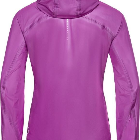Odlo Coat Zeroweight Dual Dry Waterproof Violet