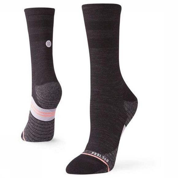 Stance Sock Uncommon Solid Wool Crew black