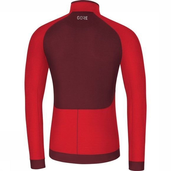 Gore Wear T-Shirt M Thermo Rood/Donkerrood